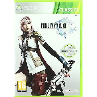 Final Fantasy XIII Classics Edition Xbox 360 Spiel