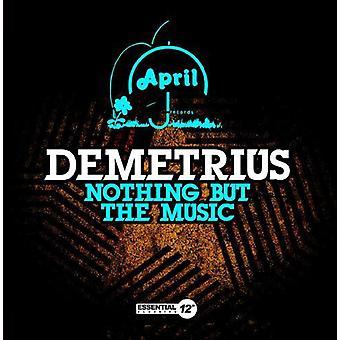 Demetrio - nada pero la música [CD] USA importar