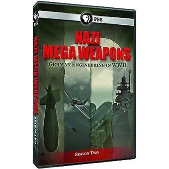 Nazistiske Megaweapons serie 2 [DVD] USA importerer