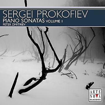 S. Prokofjev - Prokofiev: Klaver sonater, bind 1 [CD] USA import