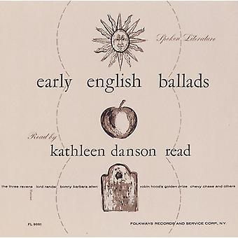 Kathleen Danson Read - gesprochene Literatur der frühen englischen Balladen: lesen B [CD] USA Import
