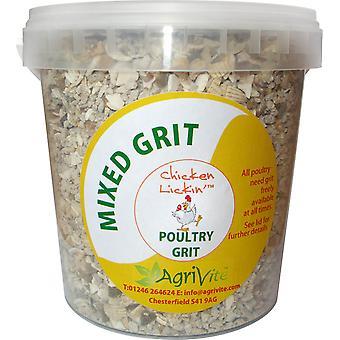 Agrivite blandet kylling grus 1,5 kg (pakke med 6)