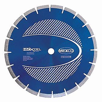 Mexco 230Mm Hartstoffe Xcel Grade Diamant-Trennscheibe