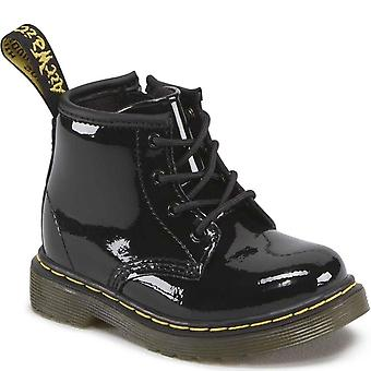 Dr. Martens Brooklee B Infant Girls Black Zip Boots