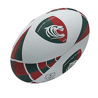 GILBERT leicester tigers supporter rugby ball size 5