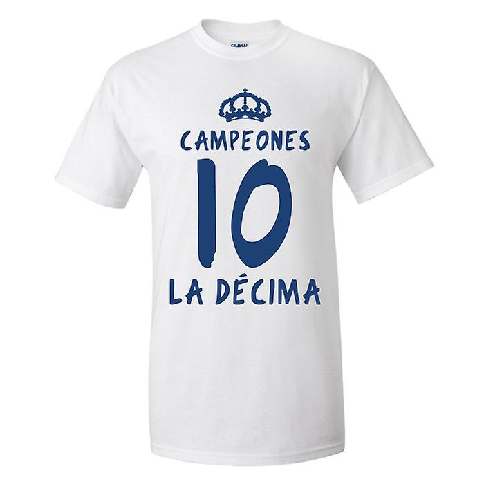 Real Madrid La Decima camiseta (blanca)