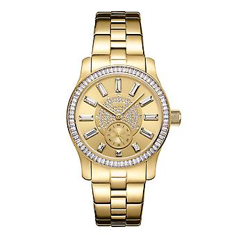 JBW ladies diamond watch with Swarovski crystals gold