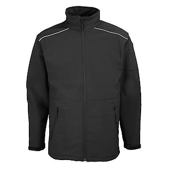 RTY Workwear Mens Softshell Workwear Jacket (Windproof & Water Resistant)