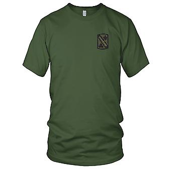 US Army - 42nd Field Artillery Brigade Embroidered Patch - OD ACU Ladies T Shirt