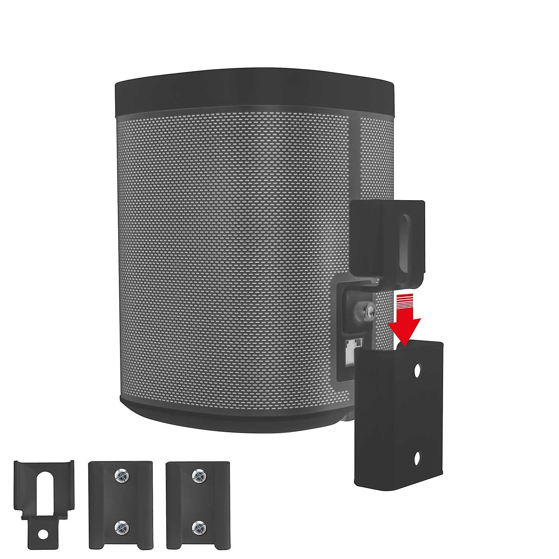 Vebos portable wall mount Sonos Play 1 black