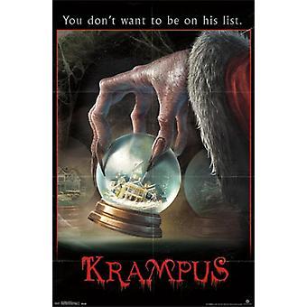 Krampus - One Sheet Poster Poster Print