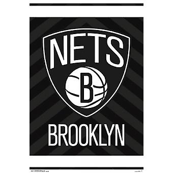 Brooklyn Nets - Logo Poster Poster Print
