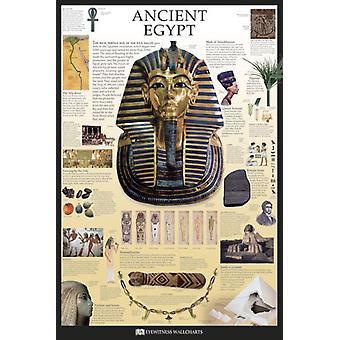 Ancient Egypt - Dorling Kinder Eyewitness Wallcharts Poster Poster Print