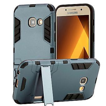 Samsung Galaxy A3 (2017) armure béquille - bleu