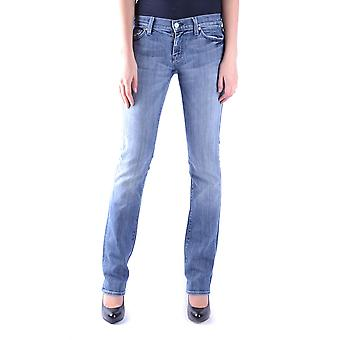 7 for all mankind ladies MCBI004023O Blau cotton of jeans