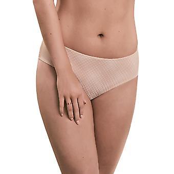 Rosa Faia 1364-593 Women's Caroline Light Rose Pink Check Full Panty Highwaist Brief