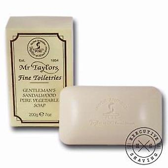 Taylor of Old Bond Street Sandalwood Pure Vegetable Bath Soap (200g)