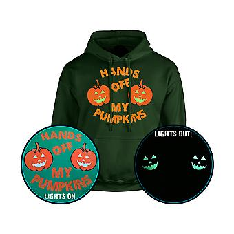 Hands Off My Pumpkins GLOW IN THE DARK Unisex Hoodie 10 Colours (S-5XL) by swagwear