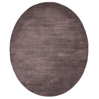 Rugs -Linie Momento Oval Rugs - Bordeaux