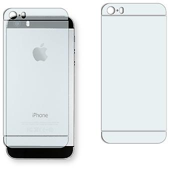 Apple iPhone 5S back screen protector - Golebo crystal clear protection film