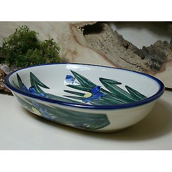 Coquille, 20 x 15 cm, hauteur 5 cm, unique - polacco ceramica - BSN 6541