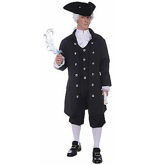 Founding Father Colonial Historical Patriot Benjamin Franklin Mens Costume Plus
