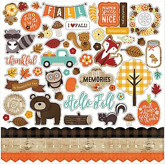 A Perfect Autumn Cardstock Stickers 12