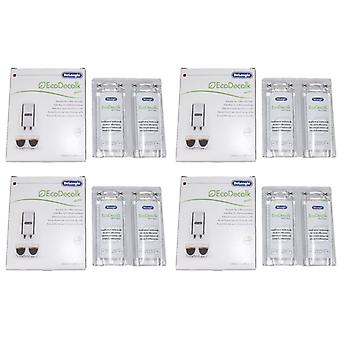 Delonghi entkalker descaler for coffee machines 8 x 100ML bottles