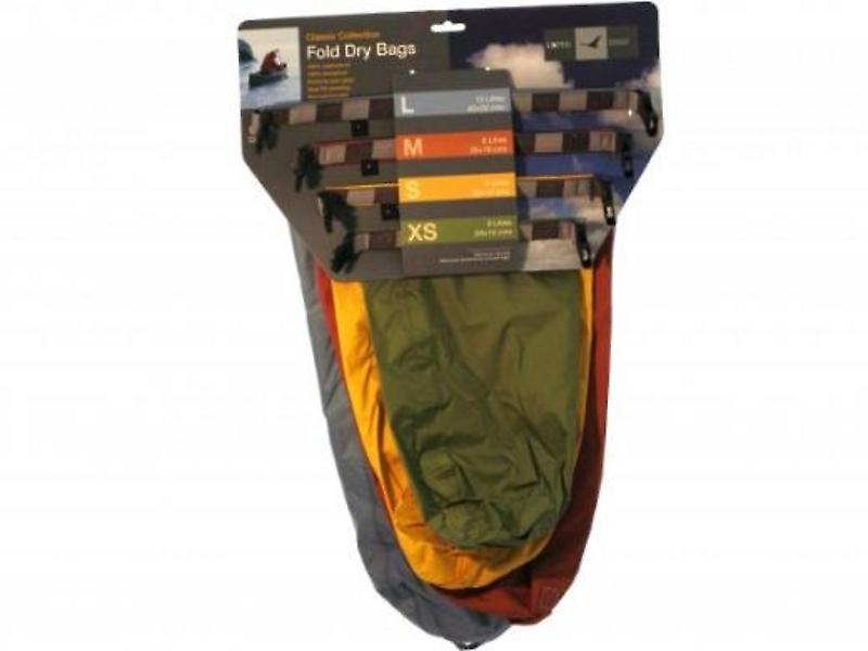 Exped Fold Drybag Classic Set (XS, S, M, L)