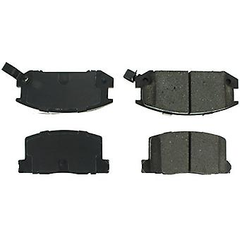 StopTech 308.03090 Street Brake Pad (Rear with Shims and Hardware), 5 Pack