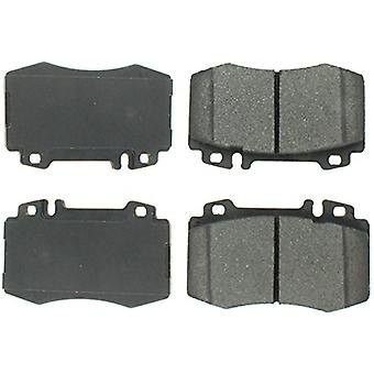 StopTech 308.08470 Street Brake Pad (Front with Shims and Hardware), 5 Pack