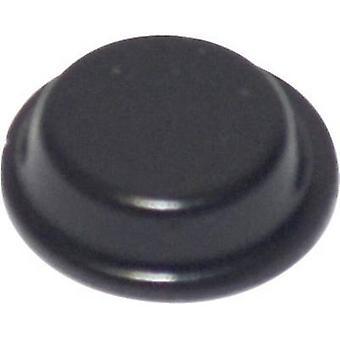 TOOLCRAFT PD2125SW pied auto-adhésif, circulaire noir (Ø x H) 12,7 x 3,5 mm 1 PC (s)