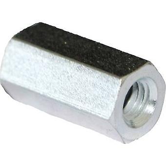PB Fastener S57040X30 Spacer (L) 30 mm M4x9 Steel zinc plated 10 pc(s)