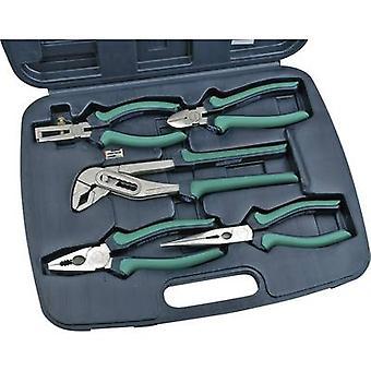 Brüder Mannesmann 10996, 5 Piece Professional Pliers Set