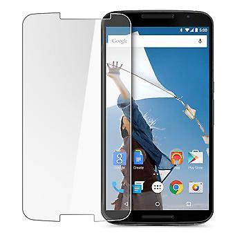 Motorola Google nexus 6 pantalla protector armadura protección de vidrio vidrio laminado