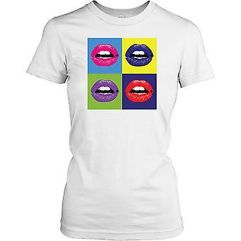 Warhol inspirert Pop Art lepper damer T skjorte