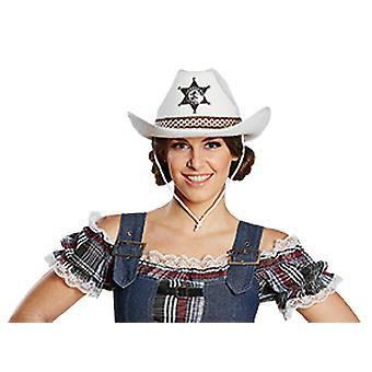 Texas cowboy hat white hat accessories Halloween Carnival