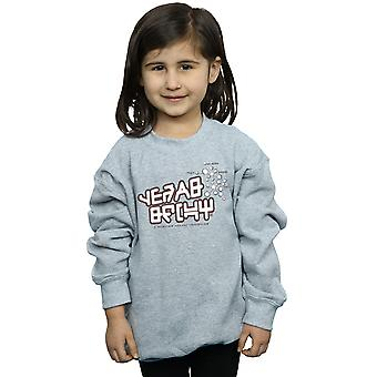 Marvel Girls Guardians of the Galaxy Star Lord Text Sweatshirt