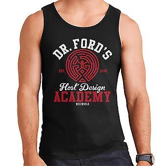 Dr Fords Host Design Academy Westworld Men's Vest