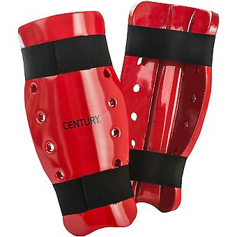 Century Martial Arts Student Sparring Shin Guards - Red -pads karate taekwondo