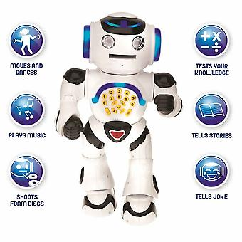 Lexibook ROB50EN Powerman Educational Talking Remote Control Robot