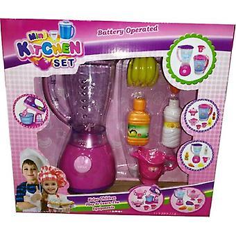 Blender roze met licht en accesoires