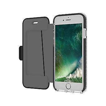 Celly Hexagon Wallet case for iPhone 6/7/8 Black