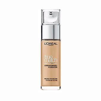 Loreal True Match Foundation W5 gouden zand 30 ml