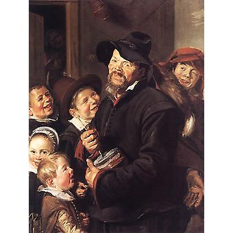 The Rommel Pot Player, Frans Hals, 50x40cm
