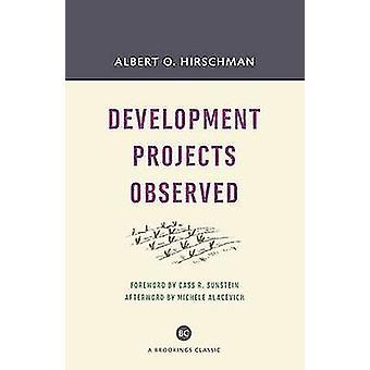 Observé le développement des projets (avec une nouvelle avance) par Albert O. Hirsc