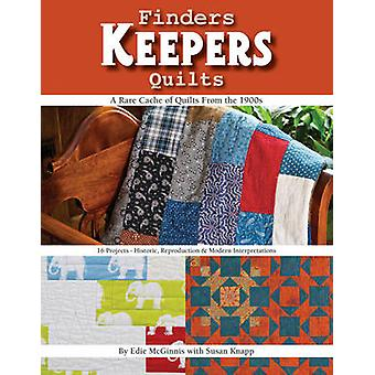 Finders Keepers Quilts - A Rare Cache of Quilts from the 1900s - 16 Pr