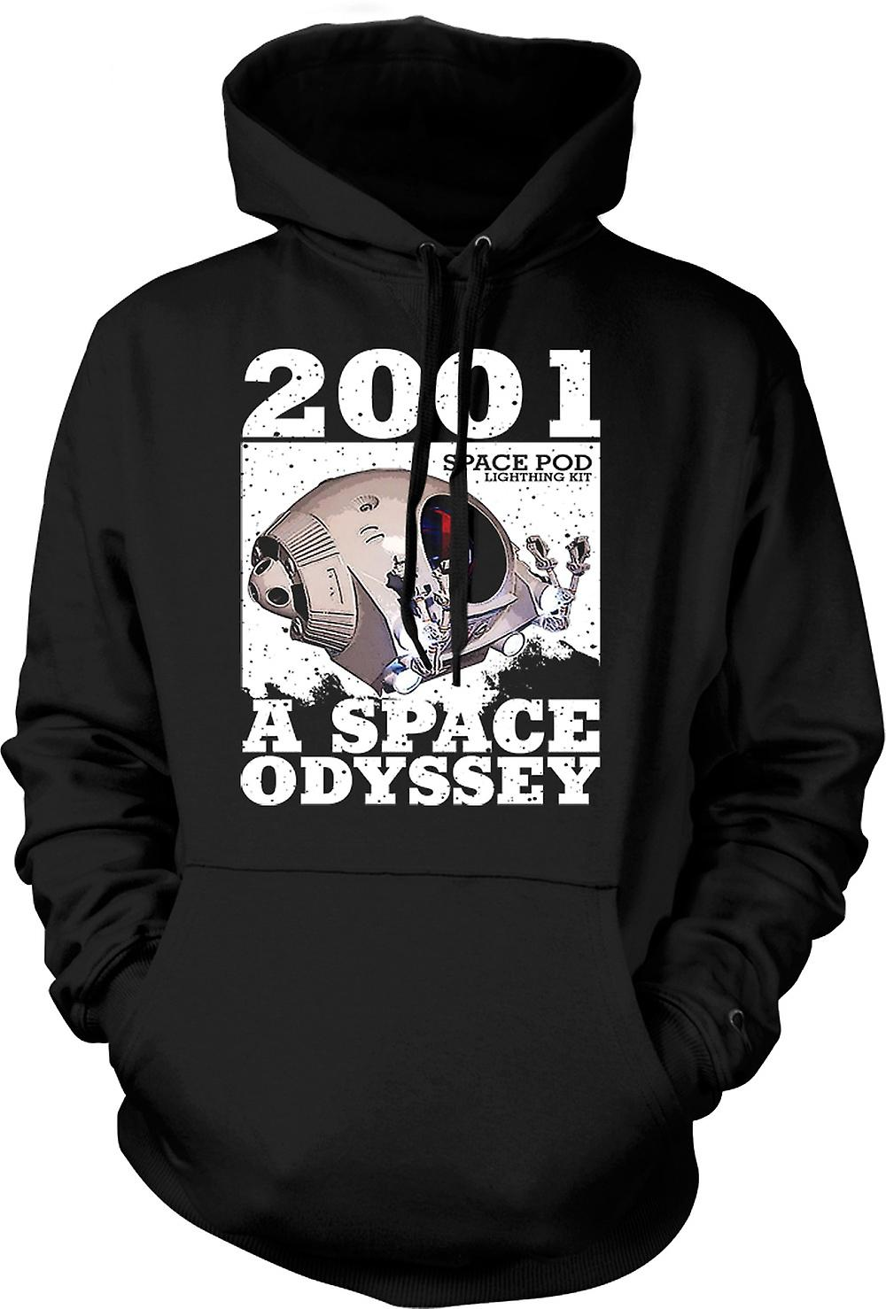 Mens Hoodie - 2001 Space Odyssey - Space Pod