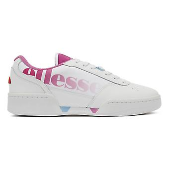 Ellesse Piacentino Womens White / Super Pink Trainers