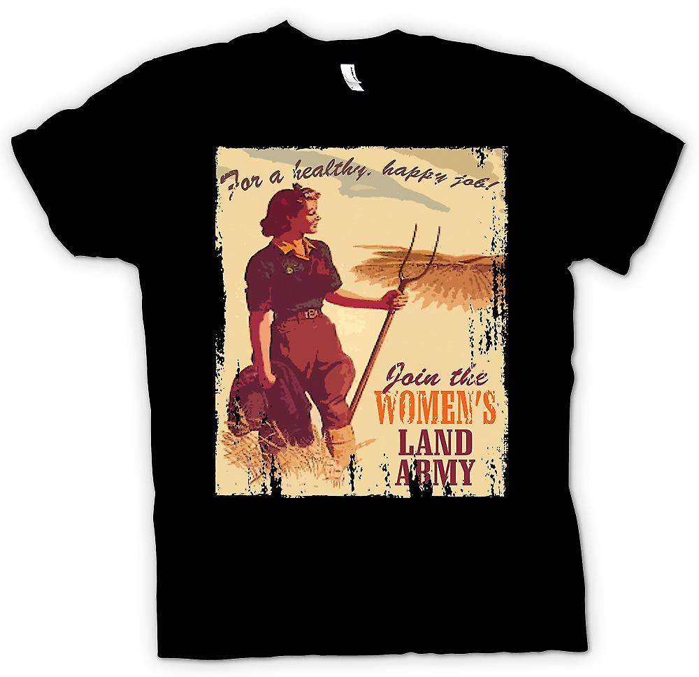 Womens T-shirt - Join der Womens Land-Armee